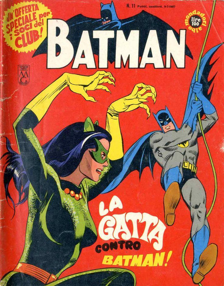 La gatta contro Batman