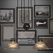 120W Artistic Pendant Light with 2 Lights in ... – EUR € 242.54