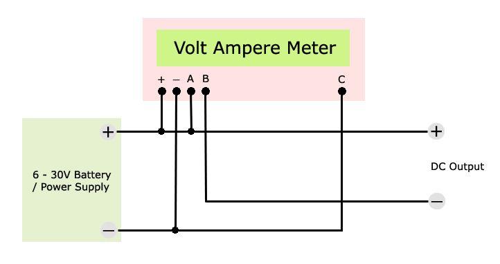 Voltmeter Ammeter Wiring Diagram Volt Ampere Function Generator Fm Band