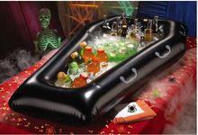 Halloween Aufblasbare Pvc Simulation Sarg Getränk Kühler Eiskübel Spielzeug Veranstaltungs Artikel Party Dekoration Lieferungen DE55210231(China (Mainland))