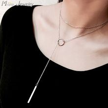 Free Shipping New Arrivals 925 Sterling Silver Chain Necklace Jewelry Long Necklace Pendant Colgante Pingente de plata(China (Mainland))