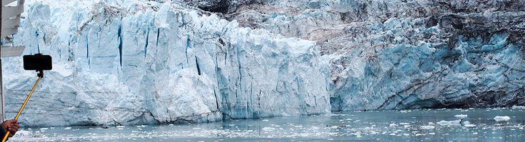 Alaskan risteilyllä vietimme yhden meripäivän Glacier Bay -luonnonpuistossa. Puistossa on useita jäätiköitä ja sadunomaiset maisemat.