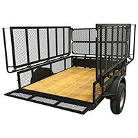 6x8 Tent Trailer | Jumping Jack Trailers