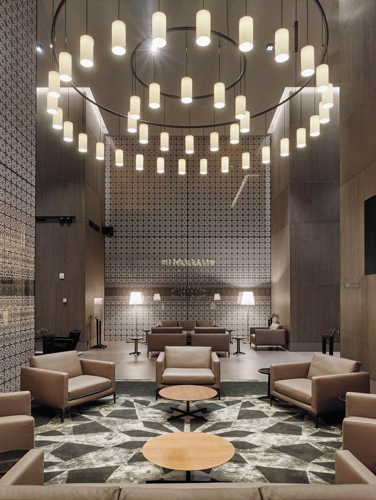 Hotel Lobby Ideas | luxury | interior | charming | design | lighting