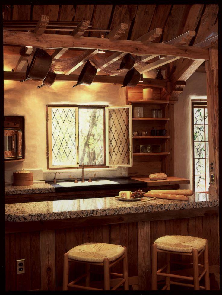 straw house - fairytale house...