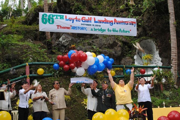 EV marks today 66th Leyte Gulf Landings anniversary | Leyte Samar Daily Express
