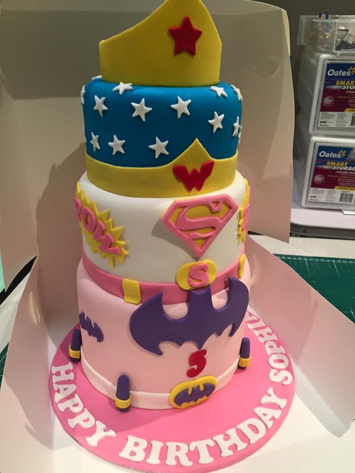 Image Result For Super Hero Cakes For Girls Marley S