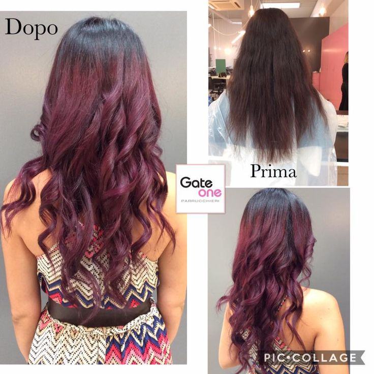 Un lavoro realizzato da Giada! #wow #amazing #beautiful #purple #woman #lovehair #longhair #ghd #loveit #bellezza #treviso www.gateoneparrucchieri.it