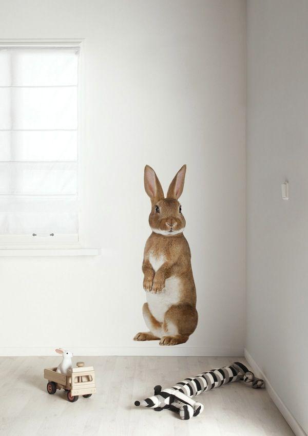 Large bunny decal. AprilandMay MINI: KEK Amsterdam