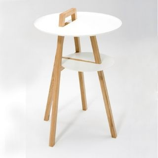 Spin side table by Tomoko Azumi
