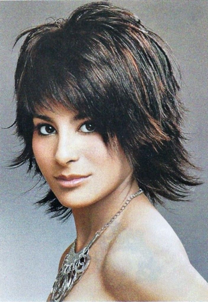 short haircut techniques 15 must see shaggy hairstyles pins layered 6058 | 6768bef88d3222cb493729e3bc46d561