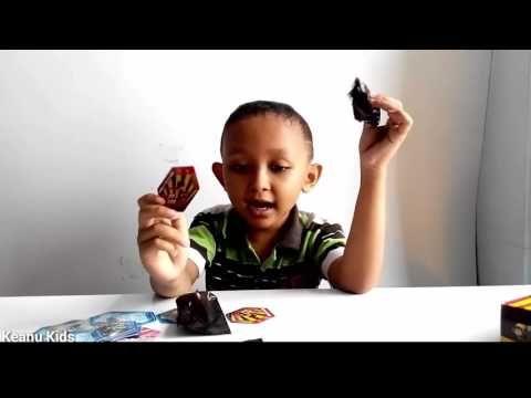 Unboxing #22 Choki Choki Ar Boboiboy Hexagon Kuasa 7 Galaxy Rob berubah ...