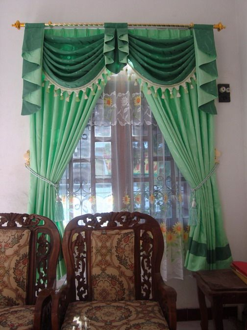 1000+ images about LENCERÍA: CORTINAS y CENEFAS on Pinterest ...