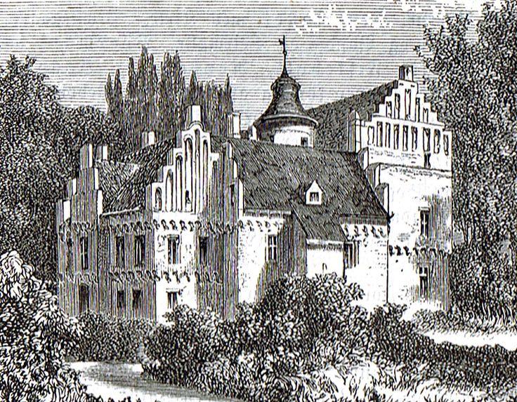 Rygård Herregård, mellem Svendborg og Nyborg.1870