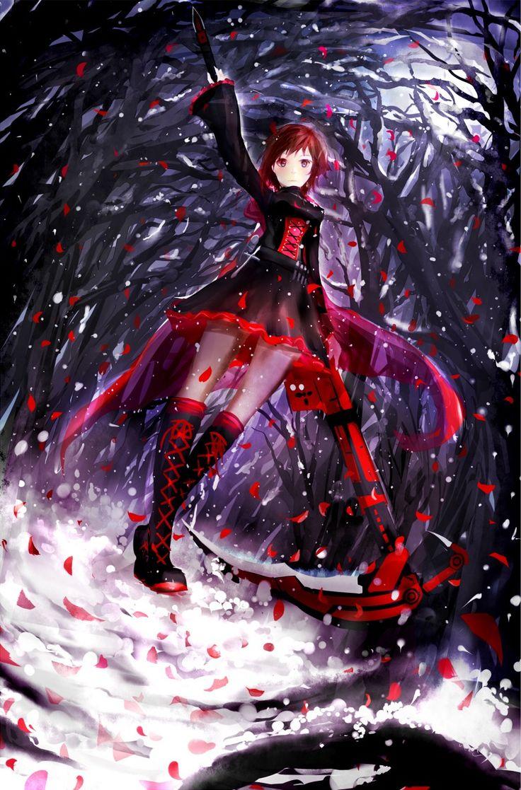 RWBY - Ruby by soompook2122 on DeviantArt  |Ruby Red Fan Art