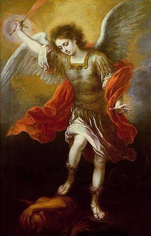 ¡Oh glorioso san Miguel!   Príncipe de los ángeles fieles al Señor,   astro de primerísima magnitud entre los Espíritus angélicos,  ...
