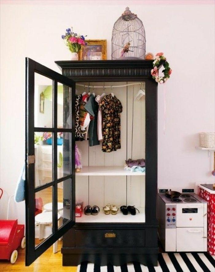 conforama armoire enfant en bois noir