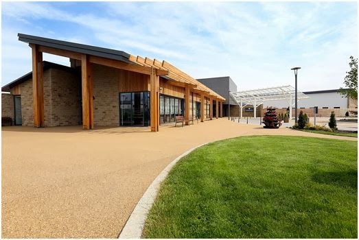 Sunderland Architectural Photographer | St Benedict's Hospice in Ryhope.