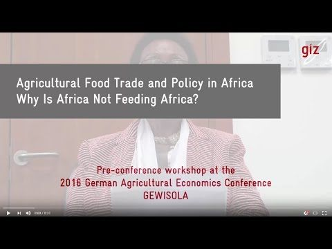 "H.E. Tumusiime Rhoda Peace - Commissioner for Rural Economy and Agriculture, African Union Commission Opening Remarks for GeWiSoLa Pre-Conference Event ""Agri..."