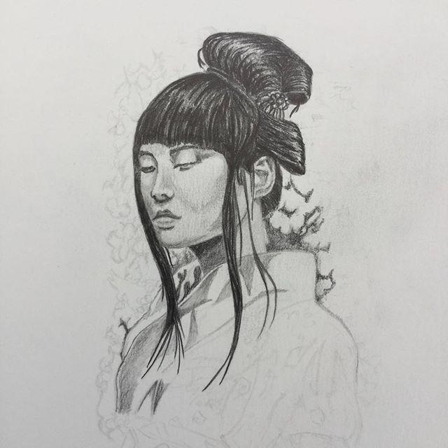 L2 Japonesa. #japanesegirl #tattoo #tattoodesign #japanesetattoo #tatuaje #diseño #ilustracion #diseñotattoo #tattoojapones #illustrationart tattoodesign,japanesegirl,diseño,japanesetattoo,tattoojapones,tatuaje,diseñotattoo,tattoo,illustrationart,ilustracion