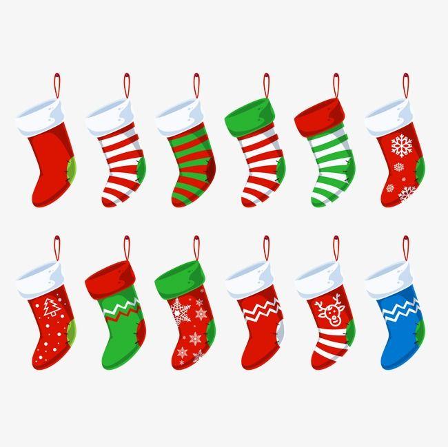 Les chaussettes de no l dessin chaussette de no l - Dessins de noel en couleur ...