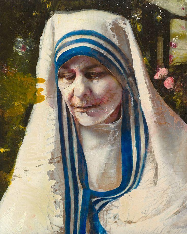Lita Cabellut - Mother Theresa
