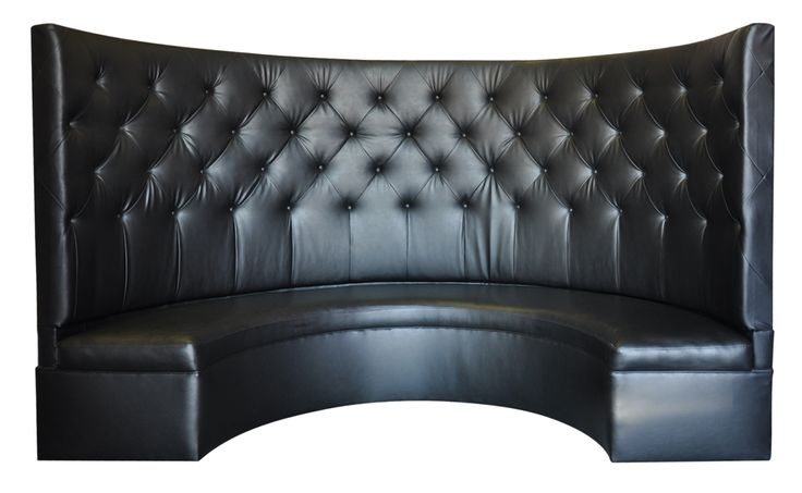 Black Tall Booth Color Black Leather Dimensions 120
