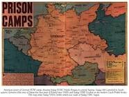 Map of prison camps