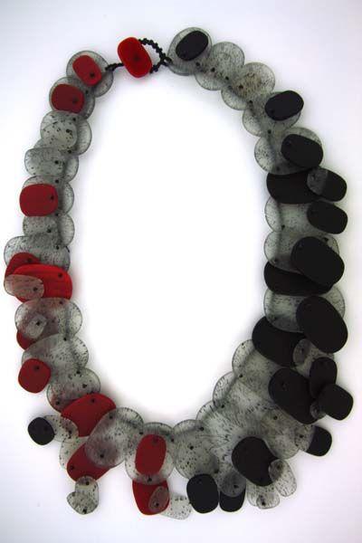 "Erica Rosenfeld, ""Polka Dots"", fused glass. 2010"