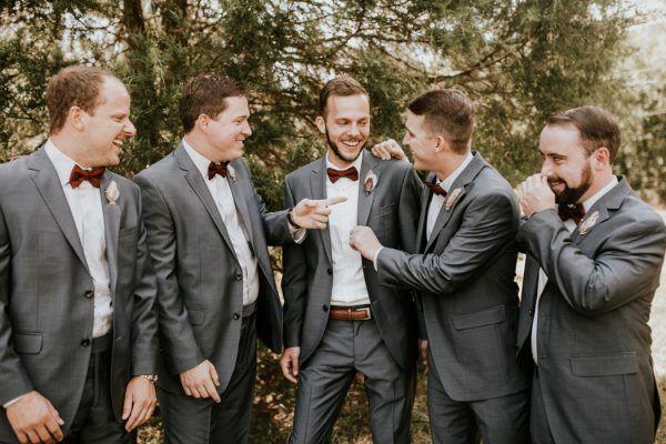 Gorgeous Southern Marsala Wedding at Grace Oaks