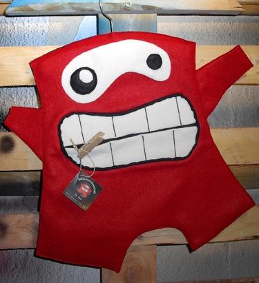 peg bag - red