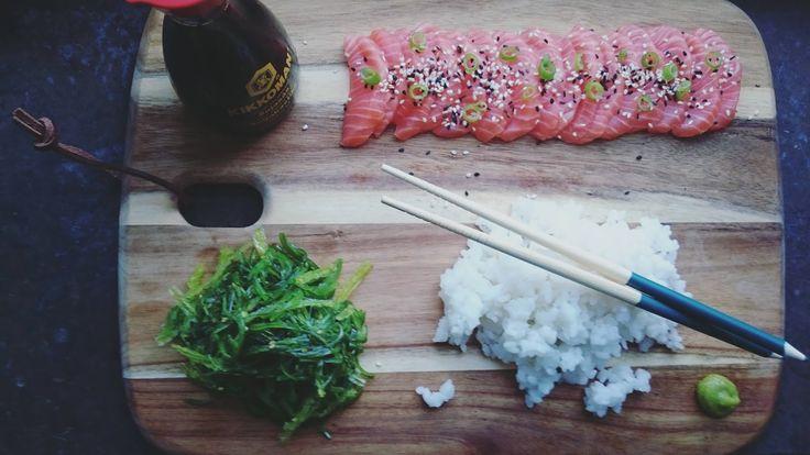 Sushi, sjögrässallad, Salma, Salmalax, kilopris, recept, wasabi, east india trading, möllan, ICA malmborgs, soja, kostnad, sushiris