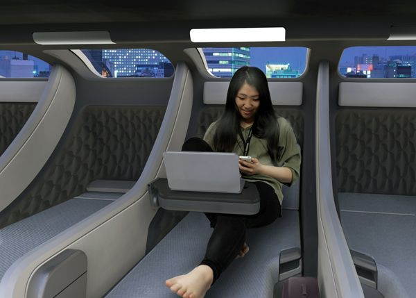 Pod Train Inspired By Those Japanese Capsule Hotels The