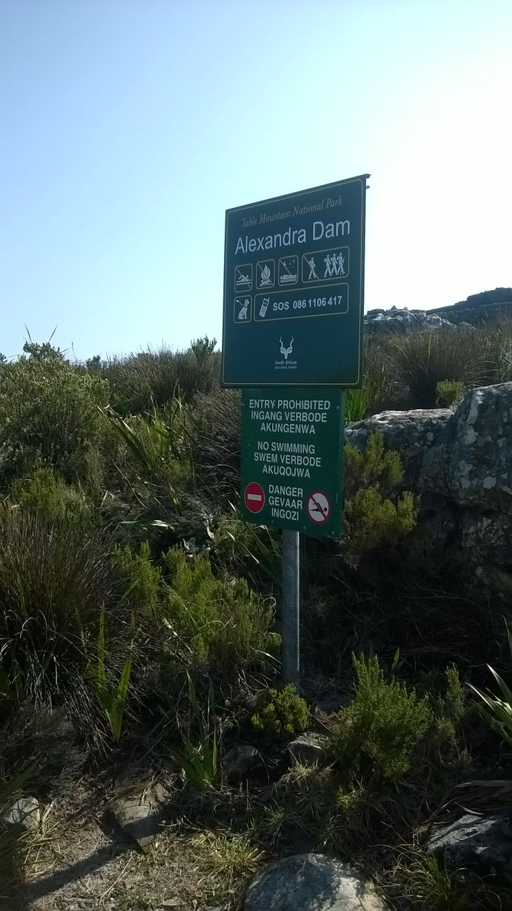 Alexandra Dam (The second of five dams on Table Mountain). Photo by Willem Breyl