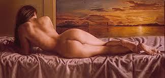 Resultado de imagen para cuadro desnudos  al oleo