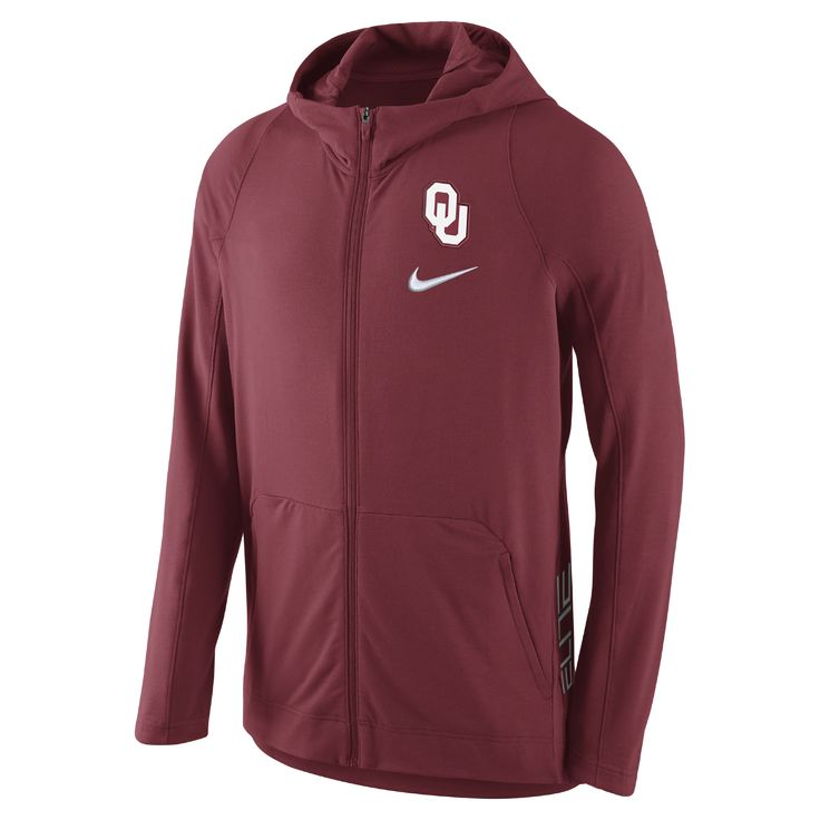 Nike College Hyper Elite (Oklahoma) Men's Basketball Hoodie Size Large - Clearance Sale