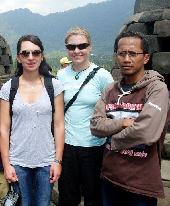 bersama #tourist di candi #borobudur