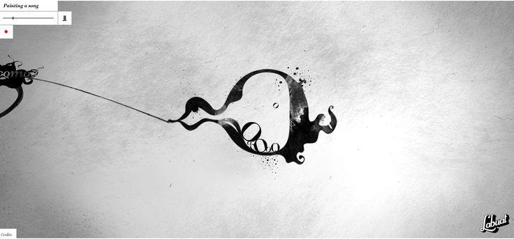 """""""Labuat"""" Soy tu aire - Paint a song. Idea & Art Direction: HerraizSoto & Co. Creative Programming: bababing! Animation: Jossie Malis Labuat fue un proyecto musical formado por Virginia Maestro. El arte y la animación apuntó a conformar un objeto digital interactivo acompañando la voz de la cantante. La obra reúne arte y tecnología, sustentado como dice Andrés García la Rota en un gran trabajo colaborativo. Verlo en: http://herraizsoto.com/works/2009/labuat/soytuaire/"""