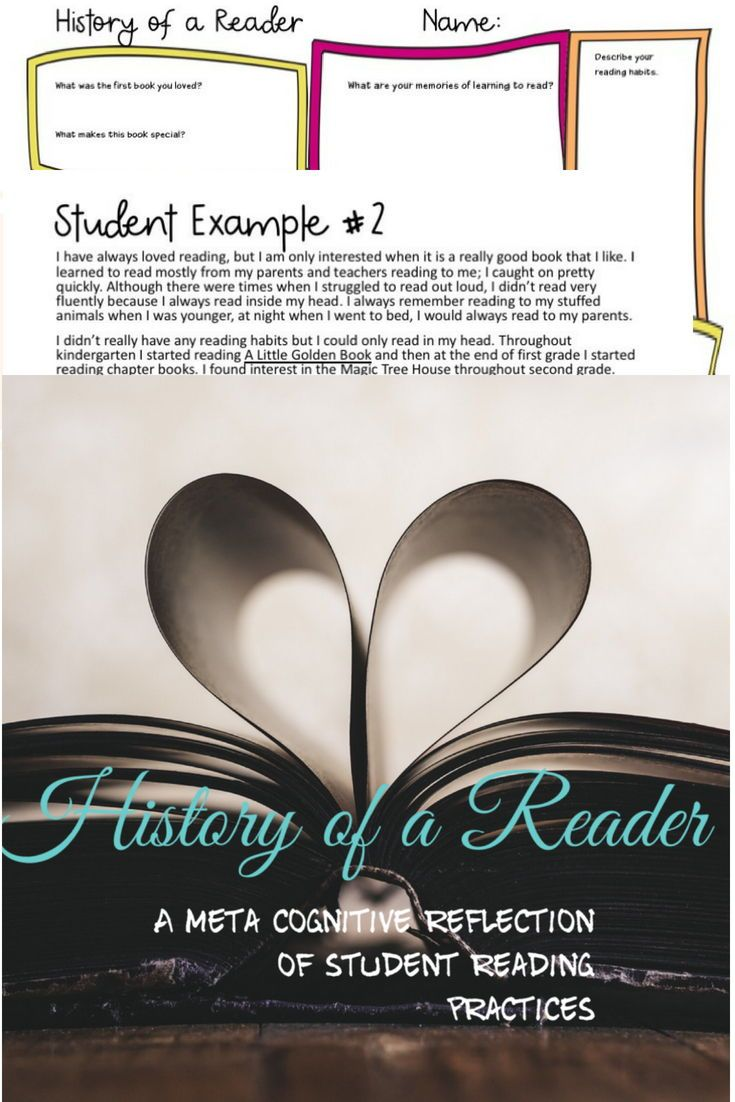 examples of reading habits
