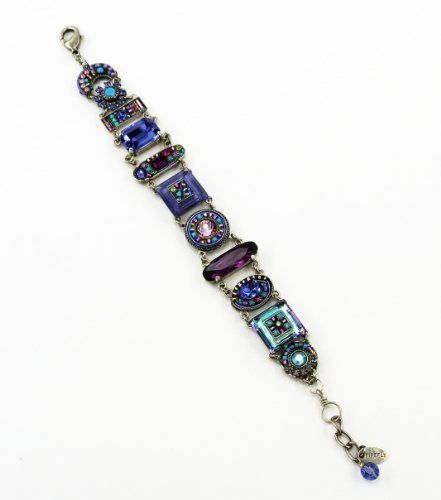 Firefly Dolce Vita Purple Multi Color Swarovski Crystal Bracelet Best Price Firefly. $249.00. FREE STANDARD SHIPPING (USA). Designed by the award winning Chavajay brothers.. Top Grade Swarovski crystals. We are an authorized Firefly dealer!. Comes with 1 inch extender (adjustabel to 8 inches)