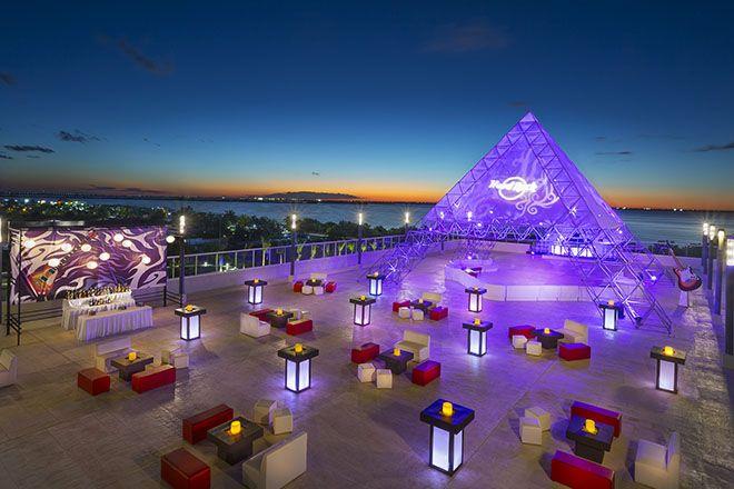 Terraza Sunset  - Hard Rock Hotel Cancun #HardRockHotelCancun
