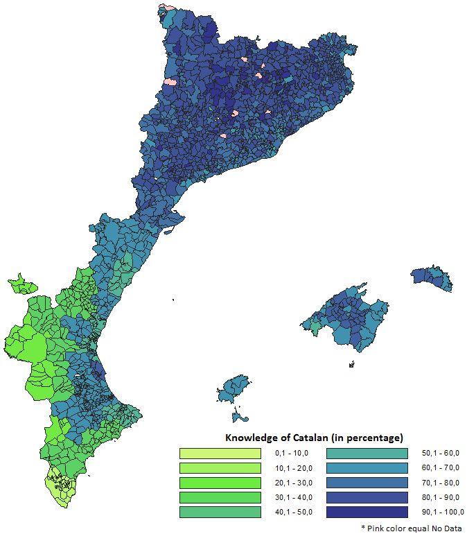 Catalan language knowledge.