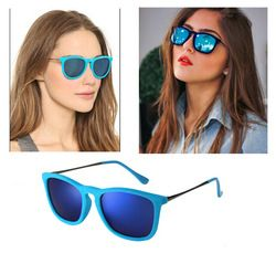 Online Shop Hot 2015 RB Sunglasses Women Brand Designer Sun Glasses Erika Velvet Frame LOGO Eyewear Women Vintage Oculo De Sol Feminino 4187 Aliexpress Mobile