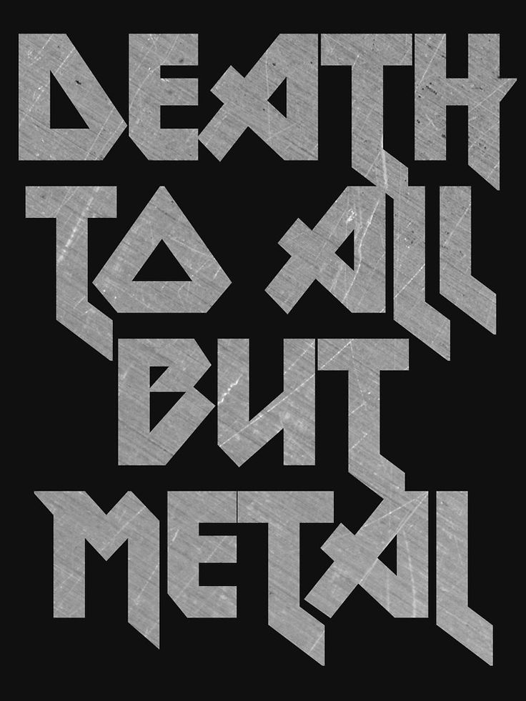 Death to All But Metal | T-Shirt Unisex
