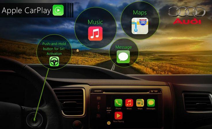 Audi Ofrece Más Información Sobre su Integración con CarPlay