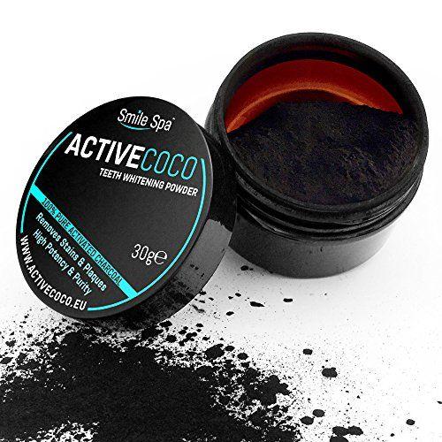 activated charcoal whitening powder #teethwhiteningspas