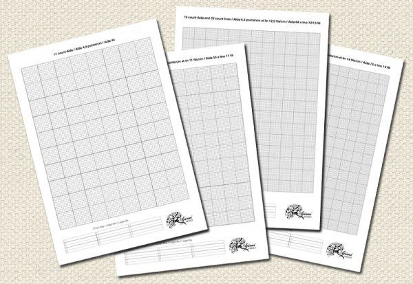 free printable cross stitch grids