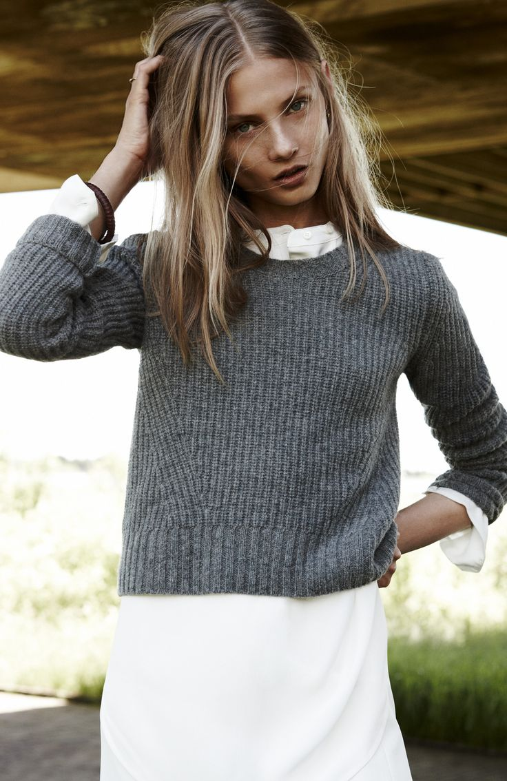 Anna Selezneva for Madewell's September '14 Catalog