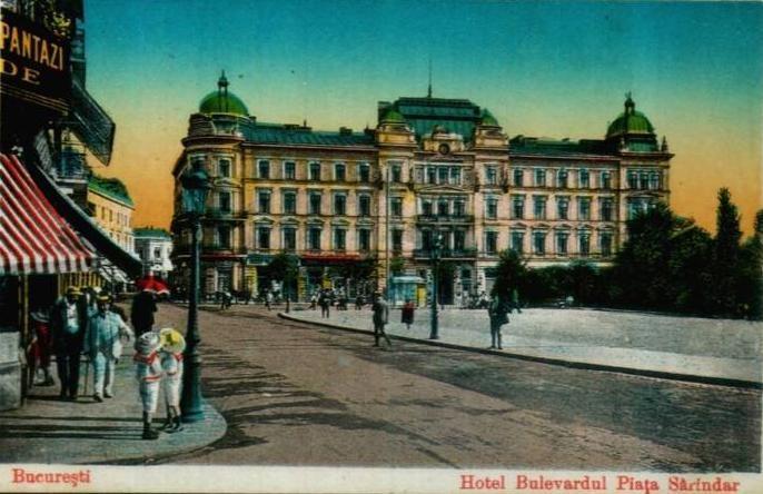 Bucuresti - Hotel Bulevard - 1940