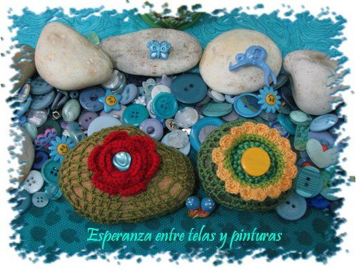 Decoradas con crochet